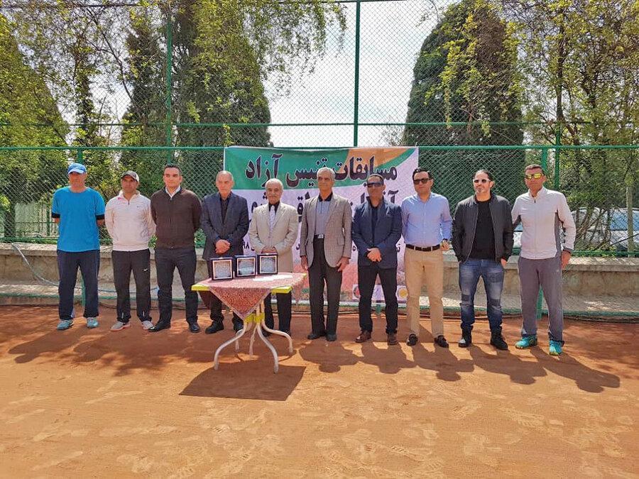 سرانجام رقابت های تنیس آزاد تهران با قهرمانی ارسلان قمی