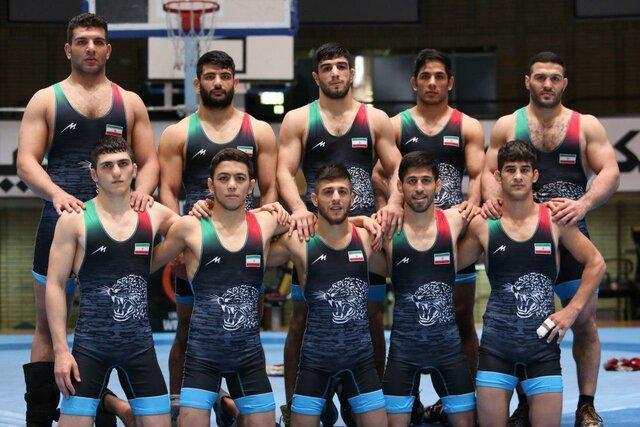 طوفان کشتی آزاد ایران در آسیا با 7 مدال طلا و 3 برنز