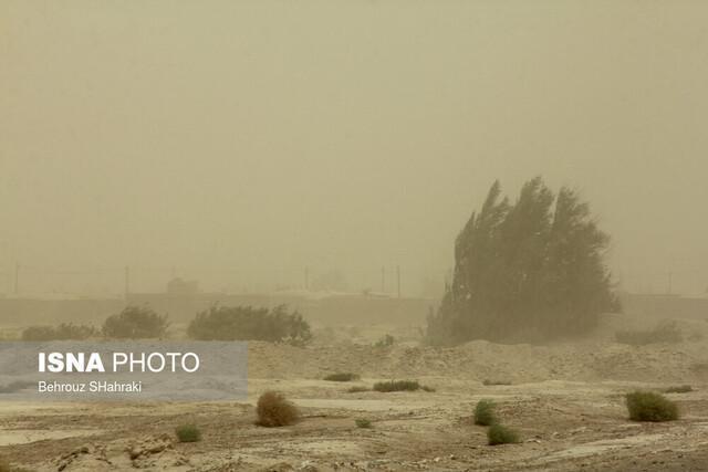 سرعت وزش باد در زابل به 86 کیلومتر بر ساعت رسید