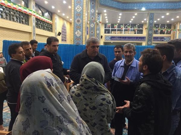 بازدید شبانه مدیر کل میراث فرهنگی فارس از وضعیت اسکان اضطراری مسافران نوروزی