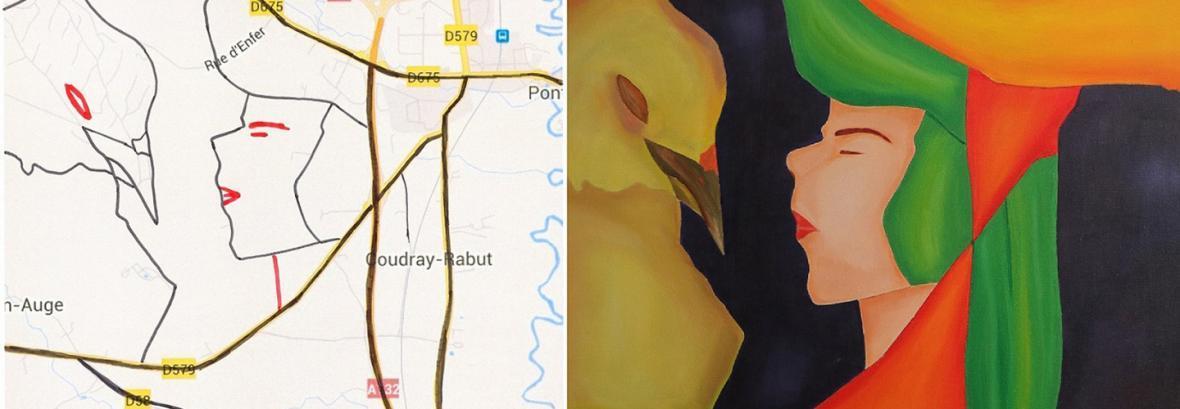 پرتره های انسان بر اساس نقشه شهرها ، نگاه خلاقانه یک ایرانی به نقشه های گوگل پرتره های انسان بر اساس نقشه شهرها ، نگاه خلاقانه یک ایرانی به نقشه های گوگل
