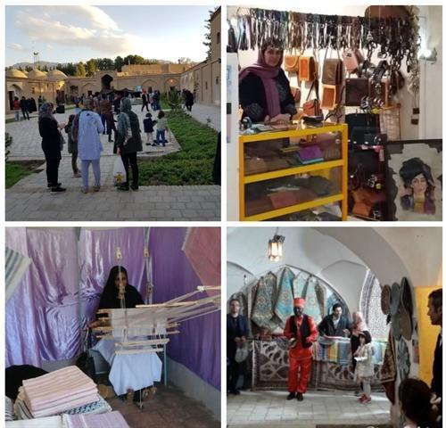 فروش یک میلیارد ریالی بازارچه های صنایع دستی نوروزی در بیرجند