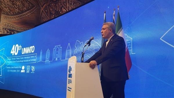 مونسان در مراسم افتتاحیه چهلمین نشست اعضای وابسته سازمان جهانی گردشگری: رویدادهای بین المللی گردشگری انرژی مضاعفی به صنعت توریسم ایران تزریق کرده است