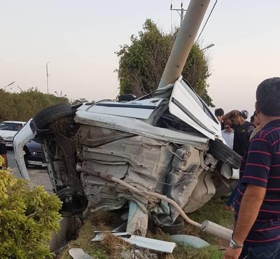 نداشتن مهارت، راننده نوجوان را به کام مرگ فرستاد
